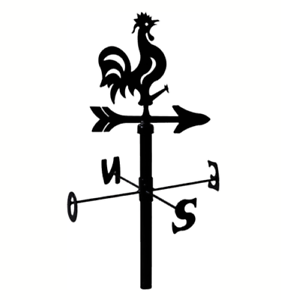 Segnavento In Ferro Battuto.Dettagli Su Gallo Galletto Segnavento In Ferro Banderuola Punti Cardinali Da Esterno