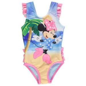 Disney Baby Girls Minnie Mouse Swimsuit Swimwear Swim Swimming