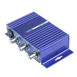12V-HIFI-Car-Bluetooth-Amplifier-FM-Radio-FM-MP3-Audio-Speaker-Digital-Player-UK