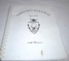 40th. Reunion 1964 Garden Spot High School Book Lancaster Pa. Soft Cover