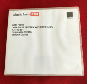 KATY PERRY Waking Up in Vegas wo br 3:18 UK promo dvd acetate ABBEY ROAD studios