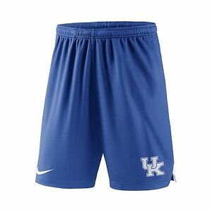 Men-039-s-Nike-Kentucky-Wildcats-Football-Dri-FIT-Shorts-Royal-Size-M-L-XL-XXL