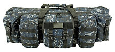 "42"" Ranger Double Rifle Bag AR15 Tactical Rifle Shooting Case 223 762 BLUE Digi*"