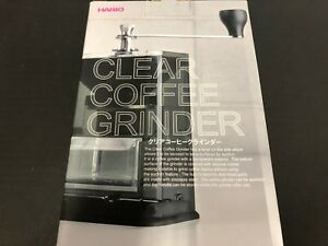 Hario-Hand-Grinder-Coffee-Mill-Clear-MXR-2TB-40g-Fixed-Type-Compact-from-JAPAN