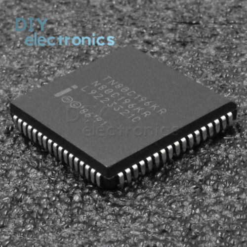 5PCS TN80C196KR PLCC-68 COMMERCIAL//EXPRESS CHMOS MICROCONTROLLER
