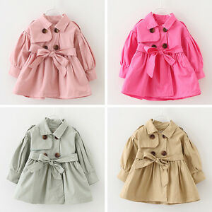 d833b3fbf Baby Girl Toddler Infant Kids Winter Windbreaker Outerwear Coat ...