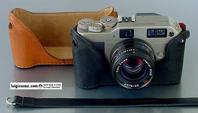 LUIGI CASE to ZEISS CONTAX IIIA-IIA RF,SOME READY,DELUXE STRAP+FAST UPS INCLUDED