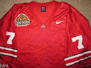 d963d5ac5 Image is loading Ohio-State-OSU-Buckeyes-7-Football-BCS-Nike-