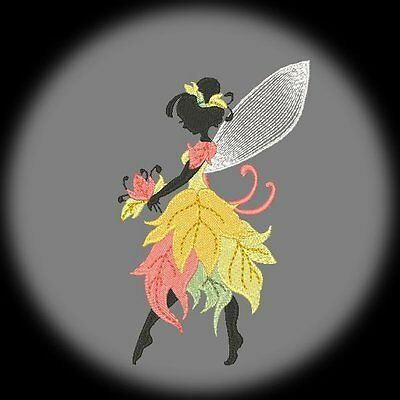 FOREST FAIRIES - 20 MACHINE EMBROIDERY DESIGNS (AZEB)