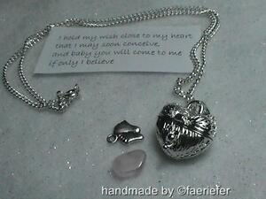 Wish-to-conceive-a-baby-fertility-necklace-and-poem-gem-heart-locket-baby-feet