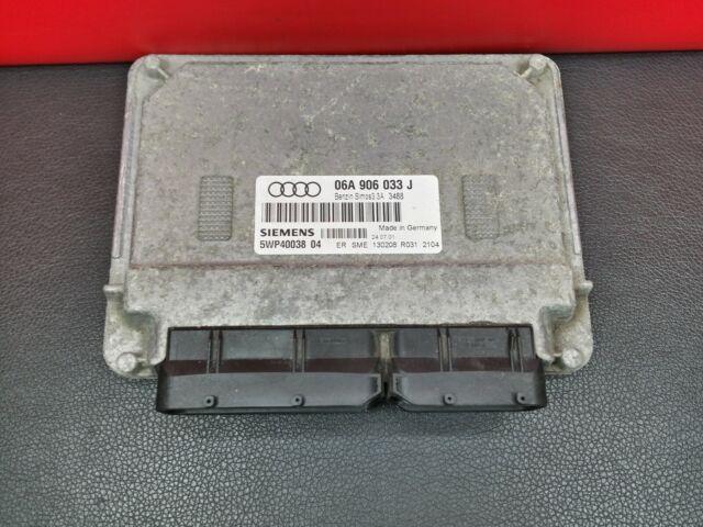 06A906033J Audi A3 1.6 Motor ECU Control Módulo Unidad 06A906033 J 5WP40038 04