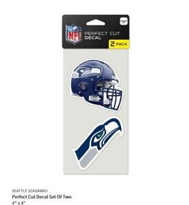 Seattle-Seahawks-2-Aufkleber-Helm-Logo-Decal-Badge-Emblem-NFL-Football
