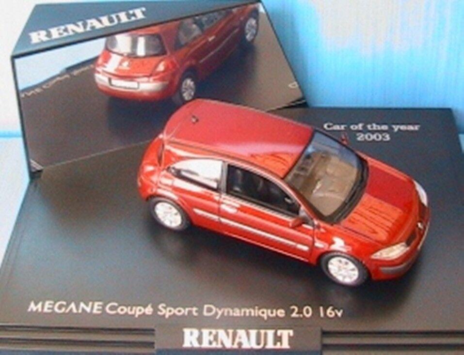 RENAULT MEGANE 2 PHASE 1 COUPE SPORT DYNAMIQUE 2.0 16V NOREV rouge ROUGE DE FEU
