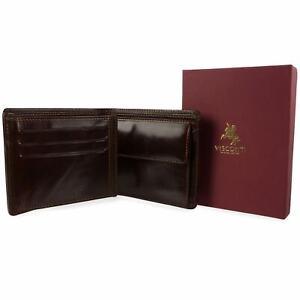 Mens-Italian-Leather-Bi-Fold-Wallet-Visconti-Enzo-Range-Classic-Change-Section