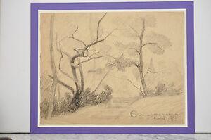 Adrien Lavieille(1848/1920)-dessin Original à La Mine De Plomb-cachet- 1887 Frissons Et Douleurs