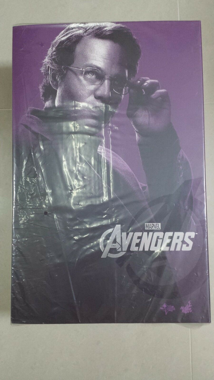 Hot Toys MMS 229 The Avengers Bruce Banner Mark Ruffalo 12 in Action Figure NEW