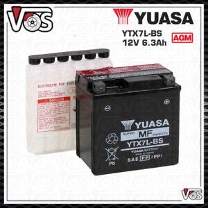 BATTERIA-YUASA-YTX7L-BS-12V-6Ah-PER-HONDA-SH-125-SH-150-YTX7LBS