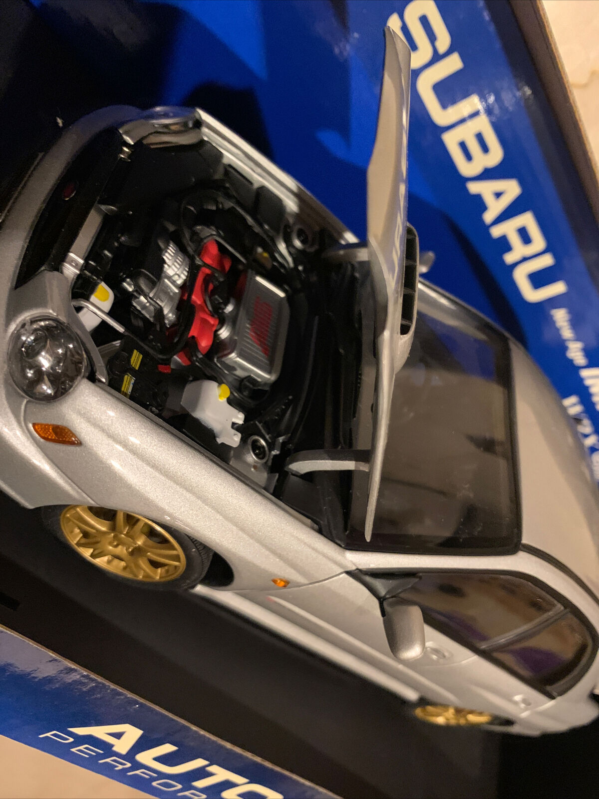 Subaru Impreza Wrx Sti Age Station Wagon Autoart 1 18 2001 Auto Art Diecast For Sale Online Ebay