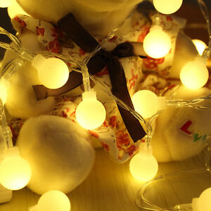 Battery-Powered-20-LED-String-Light-Wedding-Xmas-Party-Home-Decor-Lamp-Lights