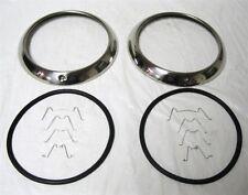 1947-1954 Chevy GMC Car & Pickup Truck Stainless Steel Headlight Rim Ring Kit SS