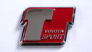 TRD-T-Sport-Badge-MR2-CELICA-YARIS-SUPRA-STARLET-MRS-GT-VVTI-SPORT