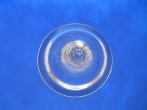 "Clear Cone Shaped Glass Paperweight ~ 3.0 x 3.0/"" #354 Vintage Quality Art Glass"