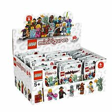New Factory Sealed LEGO 8827 Box/Case of 60 Minifigures Series 6