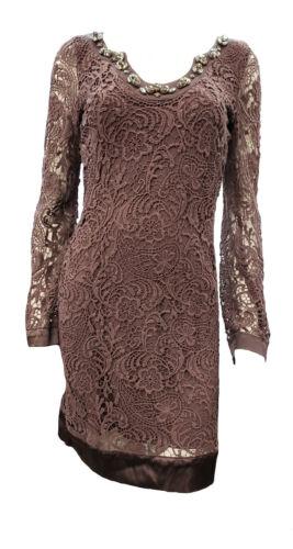 Hale Bob Lace Long Sleeve Dress 0TUM6722