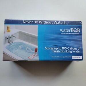 NEW WaterBOB Survival Emergency Drinking Fresh Water Storage 100-Gallons Kit