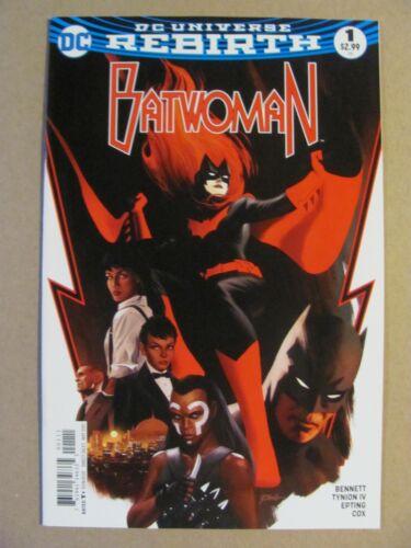 Batwoman #1 DC Comics Rebirth 2017 Series 1st Print 9.6 Near Mint+
