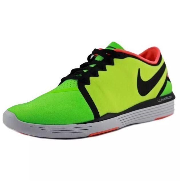 ca1331985b57 NIB Nike Lunar Sculpt Women s SZ 5 Training Shoe Volt Green 818062 300 RP    100