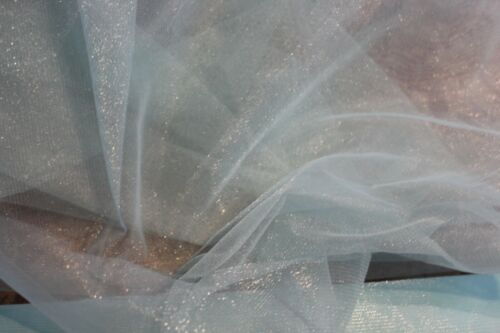"""Soft Tulle Net Mesh Fabric with shimmer for tutu bridal £2.50//m 1.60cm//63"""" wide"""
