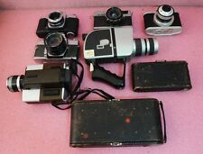 Vintage Camera Lot_Meteor_Mamiya_Minolta_Petri 7_Kodak XL55_Kmart_Focal 621.