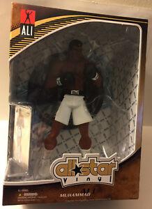 Muhammad Ali All Star Jouet De Boxe En Vinyle Avec Carte Supérieure Deck 2009 Mib Nouveau Scellé