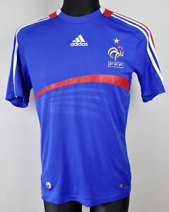 online retailer edb3f 48870 Details about FRANCE Home Shirt Adult S Men's 2007 2008 Jersey Small Trikot  Mallot Football