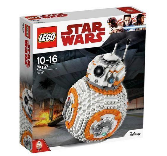 LEGO BB-8 Star Wars 75187 BB-8 Build Set NEW FREE & FAST POST
