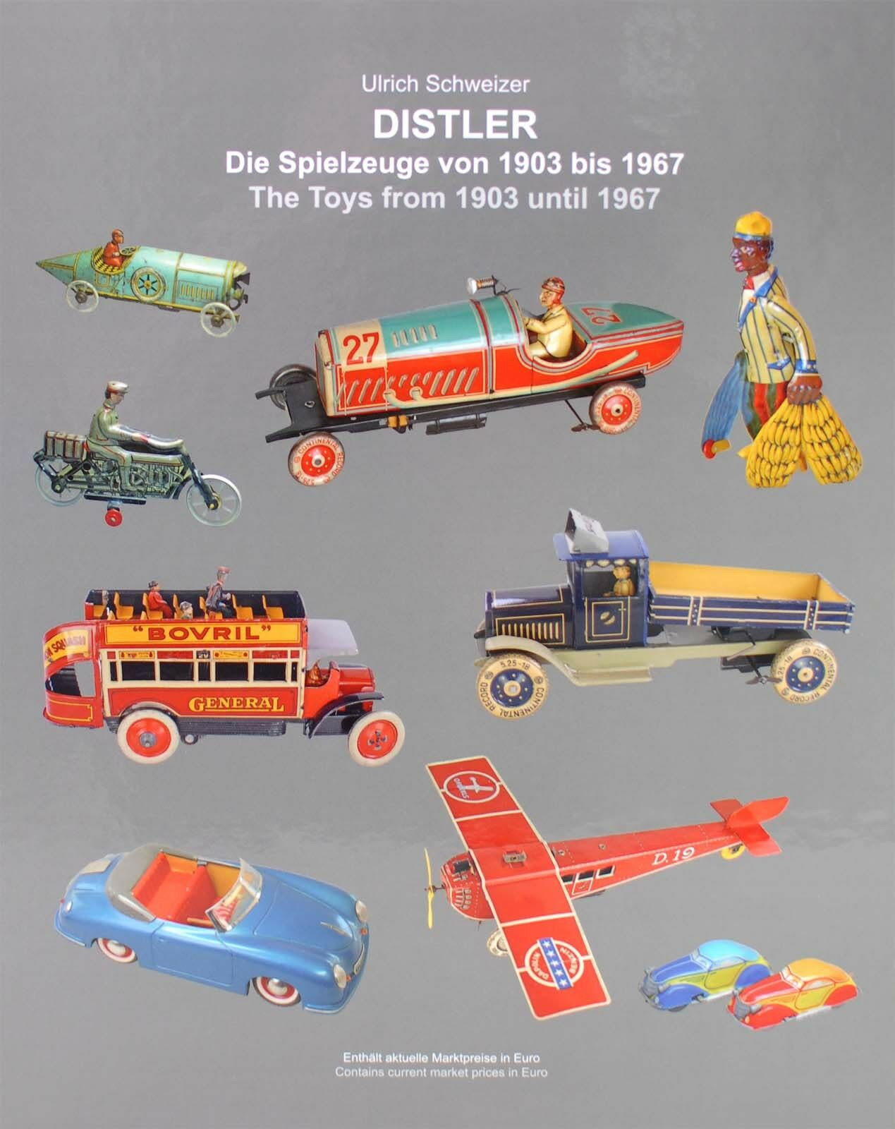 NUOVO Libro Libro da Collezione      I Giocattoli DISTLER dal 1903 al 1967