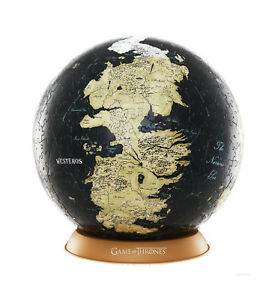 Game-of-Thrones-3D-Globe-Puzzle-Unknown-World-540-Teile-NEU-amp-OVP