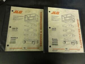 jlg 1932e2 2032e2 2646e2 scissor lift service \u0026 maintenance manualimage is loading jlg 1932e2 2032e2 2646e2 scissor lift service amp
