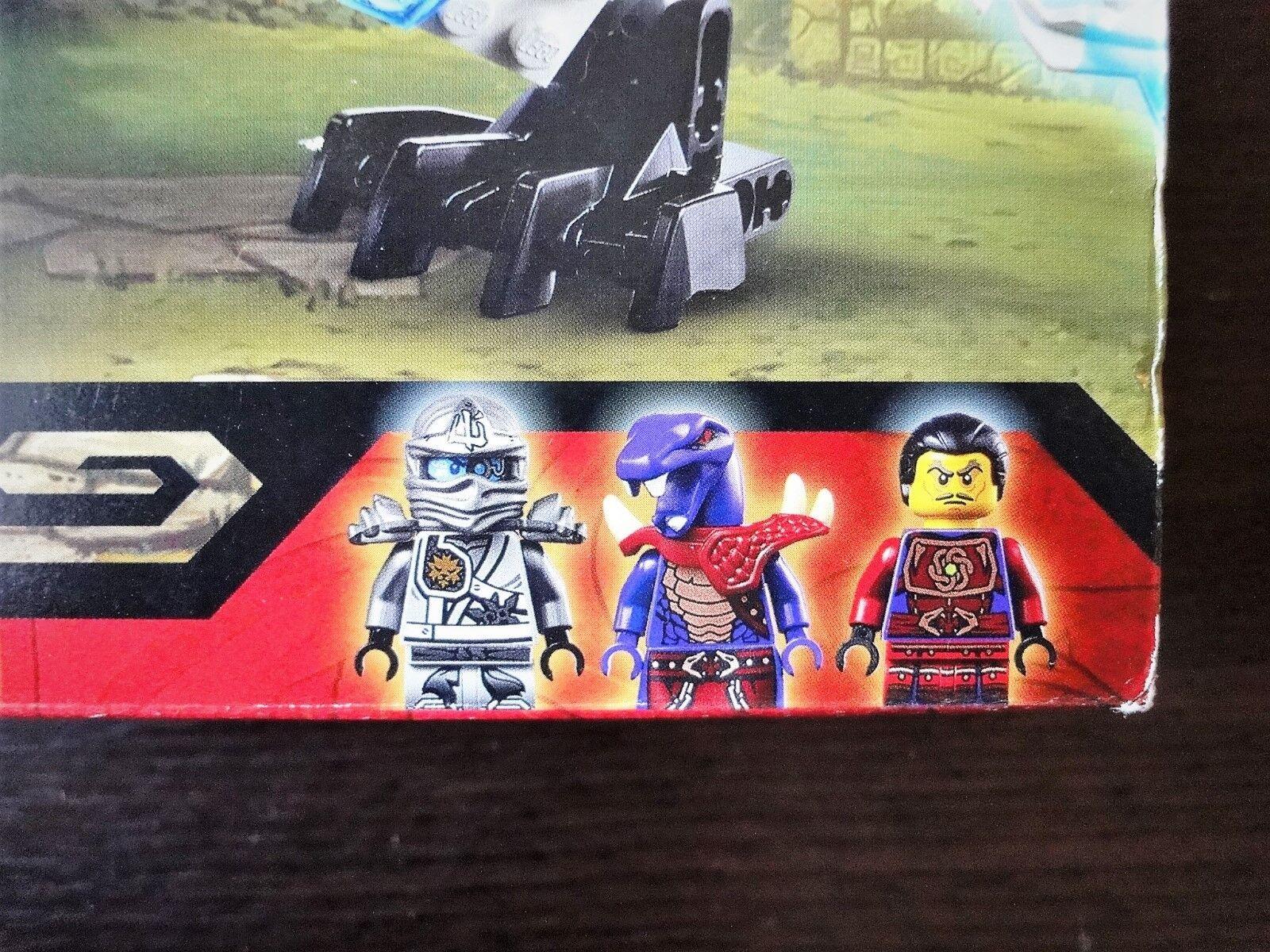 Gift    Spotless & New Titanium   Lego NINJYAGO Titanium New Dragon 70748 Factory sealed e1897f