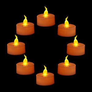 DEL-TEA-CANDLE-Scintillement-Sans-Flamme-Lumiere-Batterie-Mariage-Noel-UK