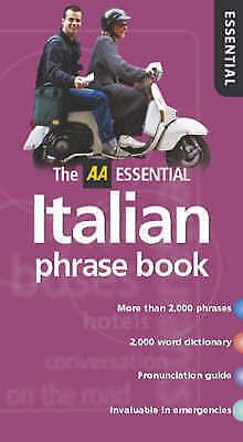 , AA Essential Italian Phrasebook (AA Essential Phrase Book), Very Good Book