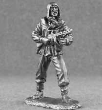 WW2 USSR 1/32 Paratrooper Man Action Figure Toy Soldiers 54mm Metal Tin