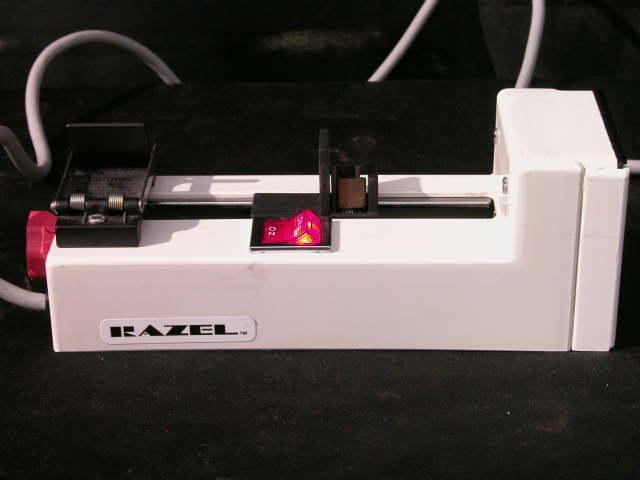 Razel Model R-E A .042 RPM 2.5 RPH Syringe Infusion Pump #2