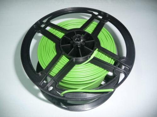 FLY Kabel 10m Grün Auto LKW 0,48€//1m Fahrzeugleitung KFZ 1,5mm² FLRY