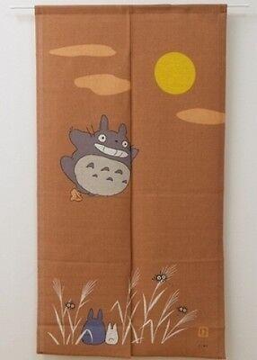 JAPANESE Noren Curtain GHIBLI TOTORO  TUKIMI NEW 9893036