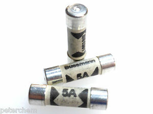 image is loading 3x-5-amp-bs1361-fuses-consumer-unit-cartridge-