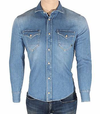 Jeans uomo CYCLE MPT191//C D002 9034 Denim 12 OZ Comfort Denim indaco