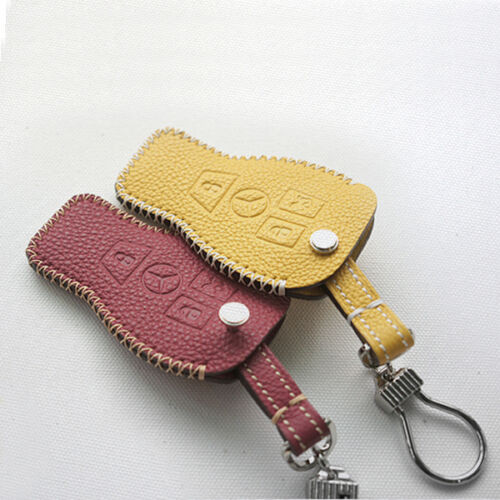 Dextannery 1332 Handmade Leather Smart Key Car Case for Mercedes Benz