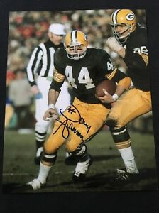 Donny-Anderson-Green-Bay-Packers-Signed-Autographed-8x10-Photo-SB-I-amp-II-COA